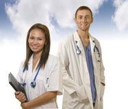 Équipe médicale professionnelle Photos stock
