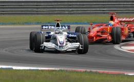 Équipe Nick Heidfeld F1.07 Allemagne sept de BMW Sauber F1 Photographie stock