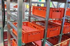 Équipement de l'industrie alimentaire Images stock