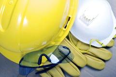 Équipement de protection de sécurité Image stock