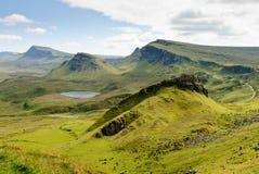Quirain, Eiland van Skye Stock Foto