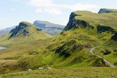 The Quirain, Isle of Skye Stock Images
