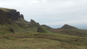 Quiraing,斯凯岛,苏格兰小岛  股票视频