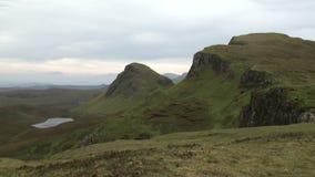 Quiraing,斯凯岛,苏格兰小岛  股票录像