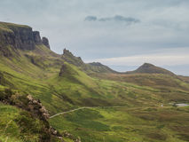 Quiraing, île de Skye, Ecosse Photo stock