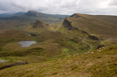 Quiraing Stock Image