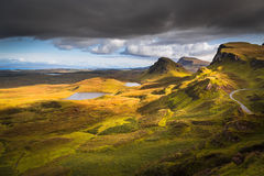 Quiraing Photo libre de droits