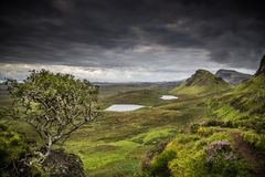 Quiraing Obraz Royalty Free