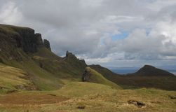 Quiraing, Isle of Skye Stock Image