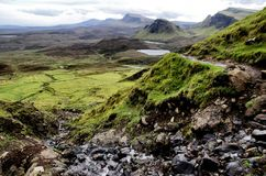 Quiraing Royalty Free Stock Photography