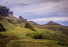 Quiraing, Isle of Skye, Scotland Royalty Free Stock Image
