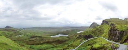 Quiraing on Isle of Skye in Scotland Royalty Free Stock Image