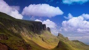 Quiraing pasmo góry w wyspie skye zbiory wideo