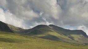 Quiraing pasmo góry w wyspie skye zdjęcie wideo
