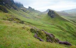 The Quiraing, Scotland. Stock Image