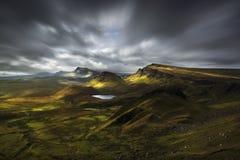 Quiraing view, Scotland Royalty Free Stock Photo