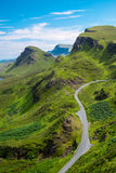 The Quiraings, Isle of Skye Royalty Free Stock Photography