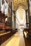 Quire da catedral de Salisbúria imagens de stock royalty free