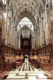 Quire della cattedrale di York Immagine Stock