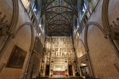 Quire Interior St Albans Abbey Royalty Free Stock Image