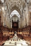Quire van de Munster van York stock afbeelding