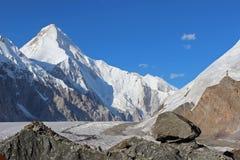 Quirguizistão - Khan Tengri (7.010 m) Imagem de Stock