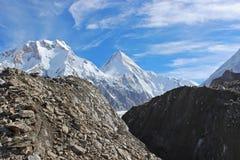 Quirguizistão - Khan Tengri (7, 010 m) Fotos de Stock Royalty Free