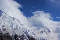Quirguizistão - Khan Tengri (7, 010 m) Imagens de Stock