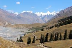 Quirguizistão - região central de Tien Shan Imagem de Stock