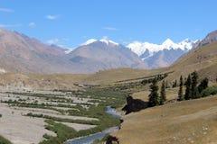 Quirguizistão - região central de Tien Shan Foto de Stock Royalty Free