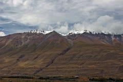 Quirguizistão - região central de Tien Shan Fotos de Stock Royalty Free