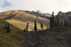 Quirguizistão - região central de Tien Shan Fotografia de Stock Royalty Free