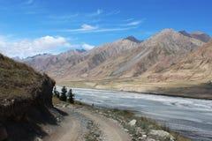 Quirguizistão - região central de Tien Shan Fotos de Stock