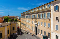 Quirinal Palace, residence of the President. Quirinal Palace, the residence of the President of Italy - Rome stock image