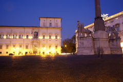 Quirinal Palace, Rome Royalty Free Stock Photos