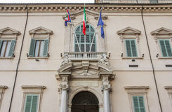 The Quirinal Palace in Rome Italy Stock Images