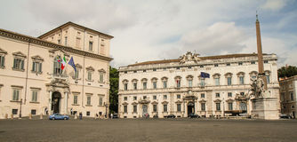 Quirinal palace Royalty Free Stock Photography