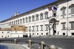 Quirinal slott i Rome Royaltyfria Bilder