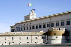 Quirinal slott i Rome Fotografering för Bildbyråer