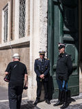 Quirinale宫殿是意大利的总统的官邸 库存图片