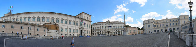 Quirinale Rome Stock Photos