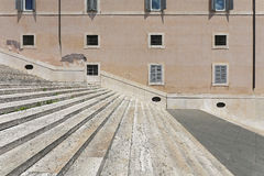 Quirinale steps Royalty Free Stock Photography