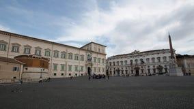 Quirinalepaleis in Rome, Italië stock video