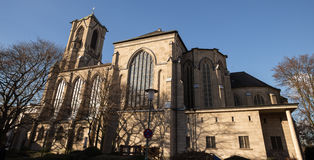 Quirinus cathedral neuss germany. The quirinus cathedral neuss germany Stock Image