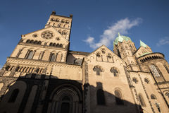 Quirinus cathedral neuss germany. The quirinus cathedral neuss germany Stock Photos