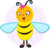 Quirky Bee Royalty Free Stock Images