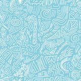Quirky background. Quirky doodle texture - scribble seamless background vector Royalty Free Stock Photo