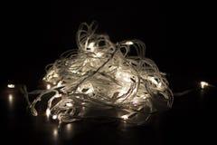 Quirlandes électriques Images libres de droits