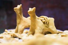 Quispina traditionnel de pain d'aymara Photos libres de droits