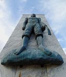 QUISSAMA, BRASILIEN - 15. OKTOBER 2016: Das Monument des schwarzer Bewusstseins-Tages in Quissama, Rio de Janeiro Stockbild